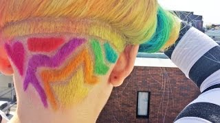 RAINBOW HAIR  - Harajuku Style - Japan - Kawaii!!