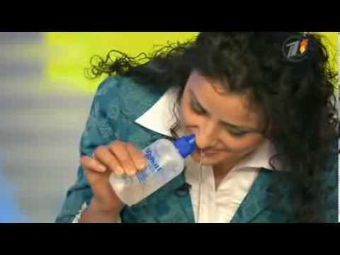 Как долго можно промывать нос соленой водой взрослому