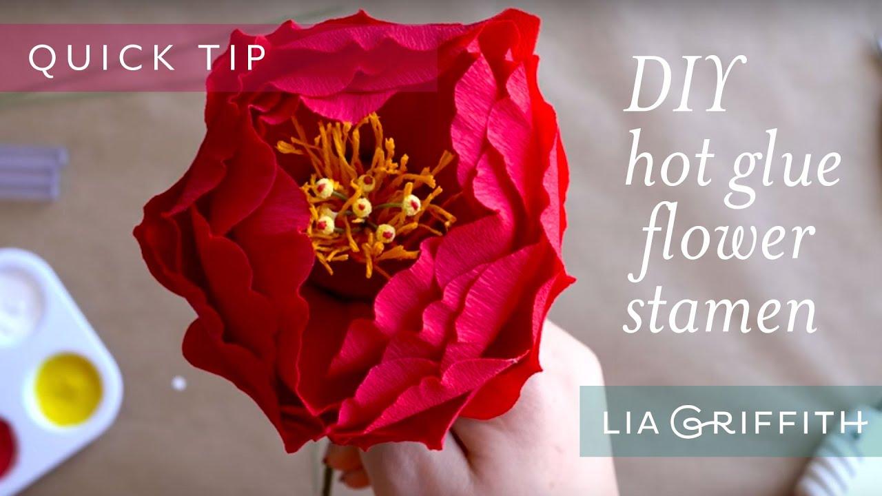Diy Flower Stamens Youtube