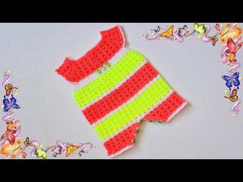 Пинетки для новорожденных. Урок вязания - ЧАСТЬ 3- ажурное вязание крючком.