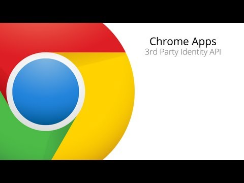 Chrome Apps Office Hours - 3rd Party Authentication
