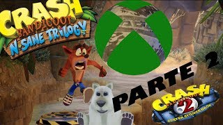 Crash Bandicoot N Sane Trilogy Xbox One #8 | Crash Bandicoot 2 | Hora de jugar con Coco