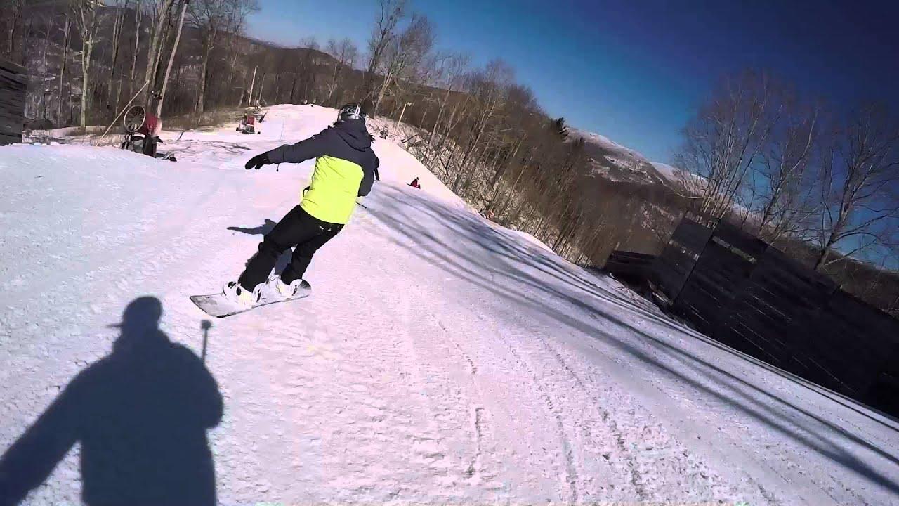 wolf ridge ski resort 2016 - youtube