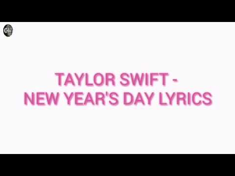 taylor-swift---new-year's-day-lyrical-video-on-youtube