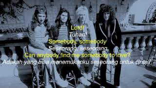 Queen   Somebody To Love (Lirik dan Terjemahannya)