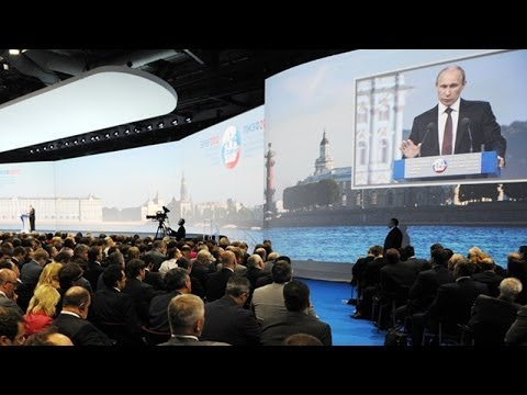 Conversation: St. Petersburg International Economic Forum