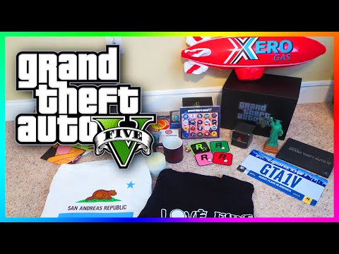 MrBossFTW GTA 5 & Rockstar Games Gear Showcase! - Exclusive Items, Shirts, Posters & MORE! (GTA V)