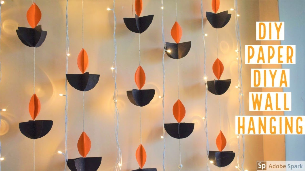 Wall Hanging Handmade Decoration Ideas For Diwali