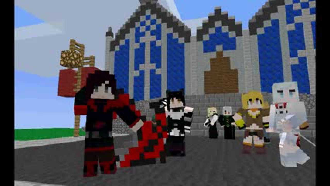 RWBY Craft Mod 1.7.10/1.7.2/1.6.4   Minecraft Mods