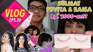 VLOG#30 BULMAT PEVITA & RAISA Rp. 2000-an!? ( BUBAH MAKEUP TUTORIAL )