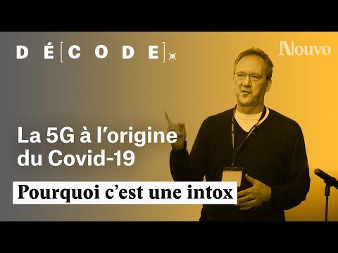 La 5G est-elle vraiment à l'origine du Covid-19 ?