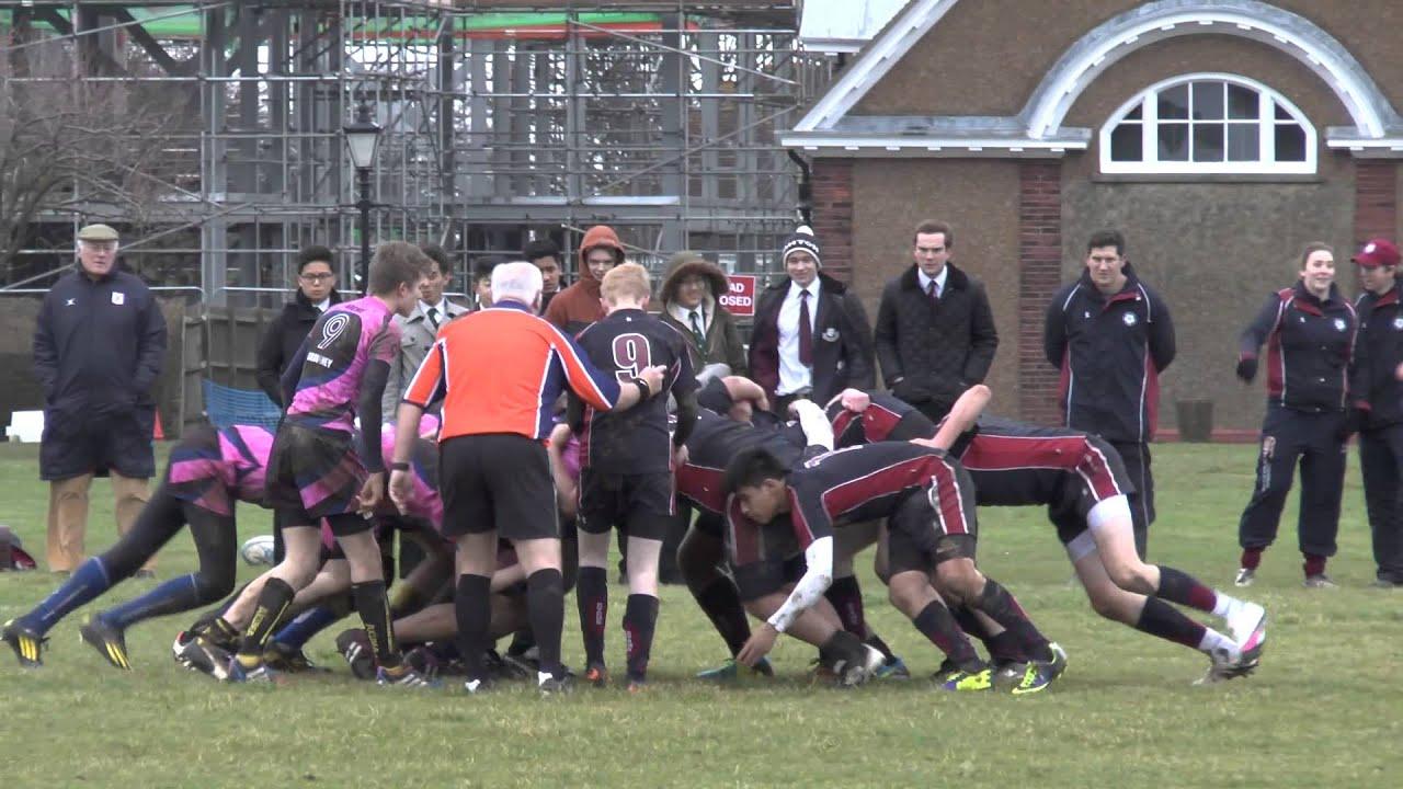 Graveney U15 XV vs Duke of Yorks Royal Military School U15 ...
