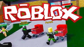 Time to become parents without children! -ROBLOX