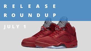 Flight Suit Air Jordan 5 and More   Release Roundup July 1st thumbnail