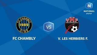 Chambly vs Les Herbiers full match