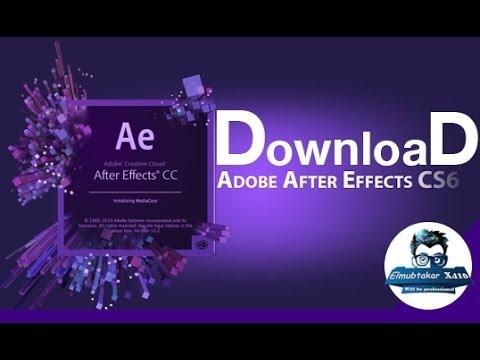 adobe after effects cs6 تحميل