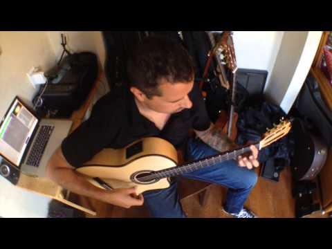 Solo Quiero Caminar  Paco de Lucia  Flamenco Guitar Ben Woods