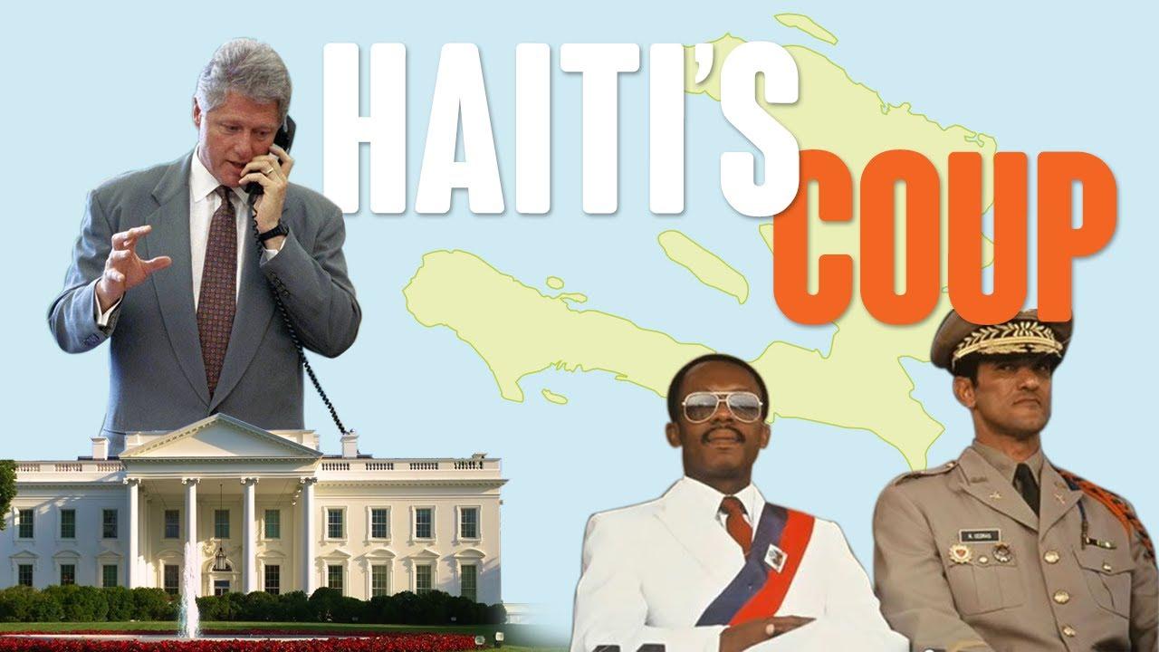 Bill Clinton ALMOST Invades Haiti