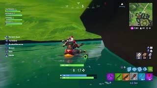 Fortnite (BUG) - Underneath Leaky Lake