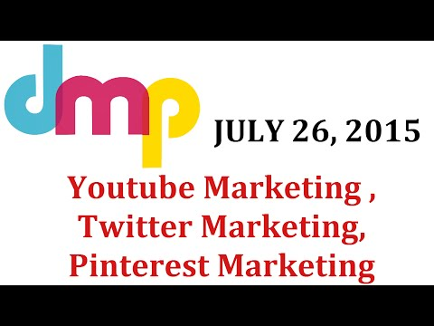 Youtube Marketing , Twitter Marketing and Pinterest Marketin