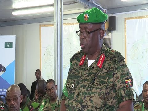 UPDF wants to withdrawal from Somalia anytime from now, AMISOM Commanders meet