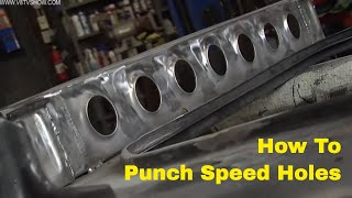 Metal Fabrication Tips: Punch Speed Holes with Mittler Brothers V8TV