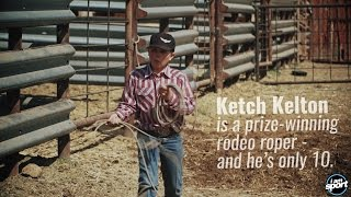 For this rodeo kid, roping is a way of life
