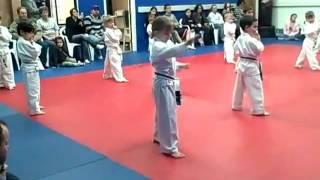 Elizabeth Joy Yellow Belt Testing Feb 2010