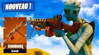 The weapon that Shoots BonBons, SurCheaté! Fortnite Saving the World