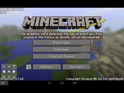 Скачать Minecraft, майнкрафт бесплатно