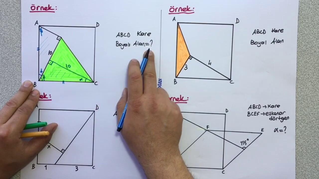 Geometri 1  -  Kare 1 📘