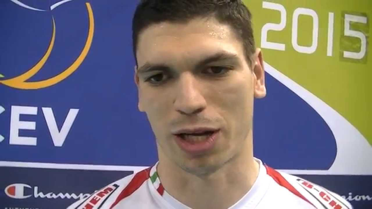 Marko Podrascanin after Paris Volley vs. Cucine Lube Treia match - YouTube