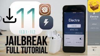 iOS 11.3.1 Jailbreak (Electra) Full Tutorial NO Computer + Troubleshooting tips