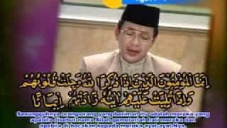 Download Amazing Asy-Syaikh KH MUAMMAR ZA - SURAT AL ANFAL.mp4 Part 2