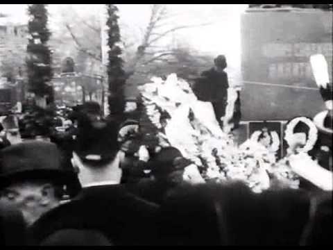 Открытие памятника поэту Никитину в Воронеже в 1911 году
