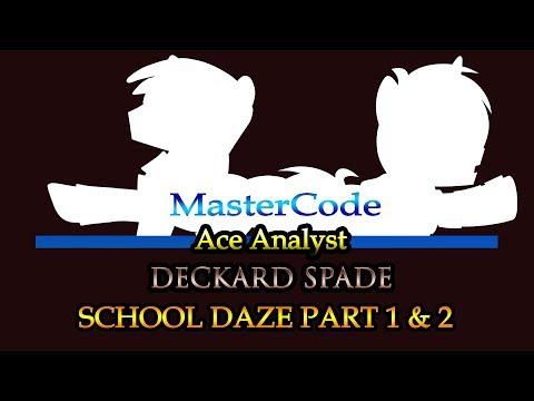 Ace Analyst & Deckard Spade: School Daze Review/Analysis
