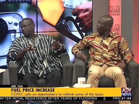 Fuel Price Increase - AM Talk on JoyNews (26-9-17)