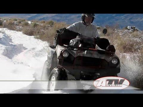 ATV Television Test - 2016 Kawasaki Brute Force 750 EPS