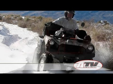2016 Kawasaki Brute Force 750 EPS Test - ATVTV Test Video