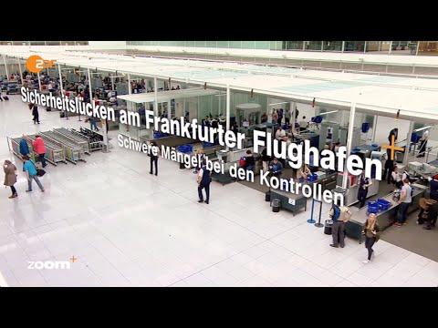 ZDFzoom: Sicherheitslücken am Frankfurter Airport