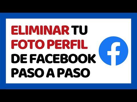 Cómo Eliminar tu Foto de Perfil de Facebook 2018 | Cómo Usar Facebook 2018