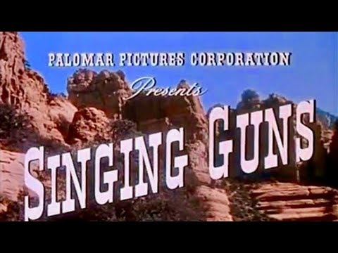 Singing Guns | FREE WESTERN | Full Movie | English | Classic Cowboy Feature Film