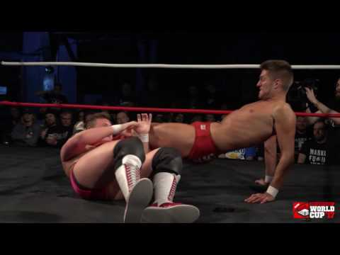 Gabriel Kidd vs ZSJ - Internet Title Match (Pro Wrestling World Cup Canada)
