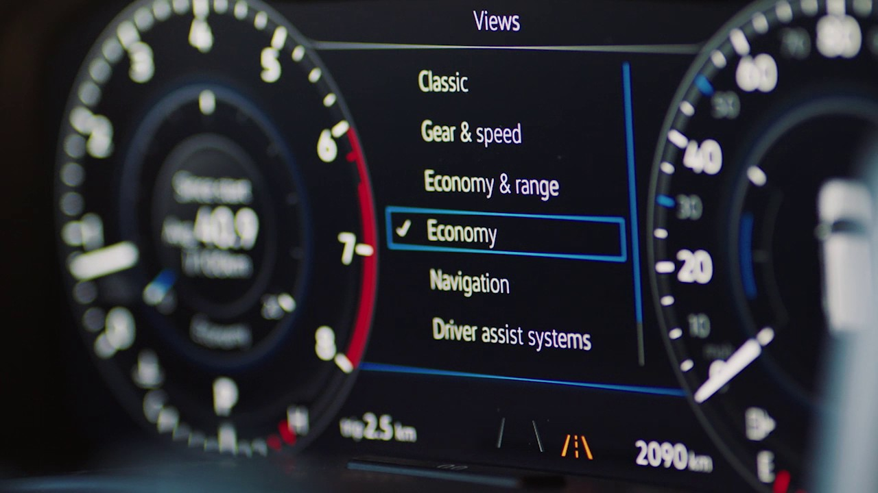 digital dashboard    atlas vw suv volkswagen canada youtube