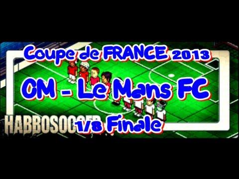 HabboSoccer | Coupe de France | OM-LE MANS FC | 1/8 Finale | N.Subotic