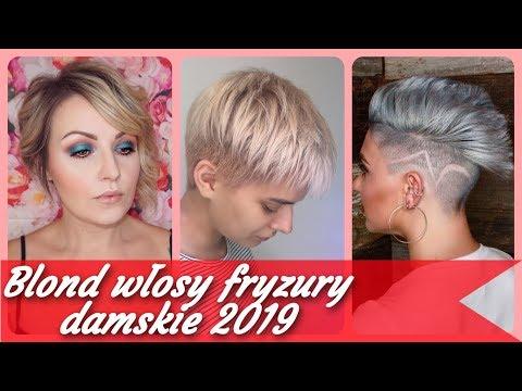Blond Krótkie Fryzury Myhiton
