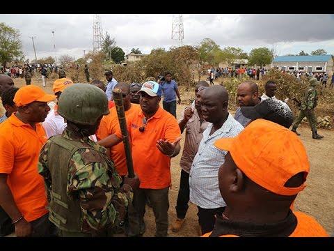 Police break up Hassan Joho rally at Kinango in Kwale