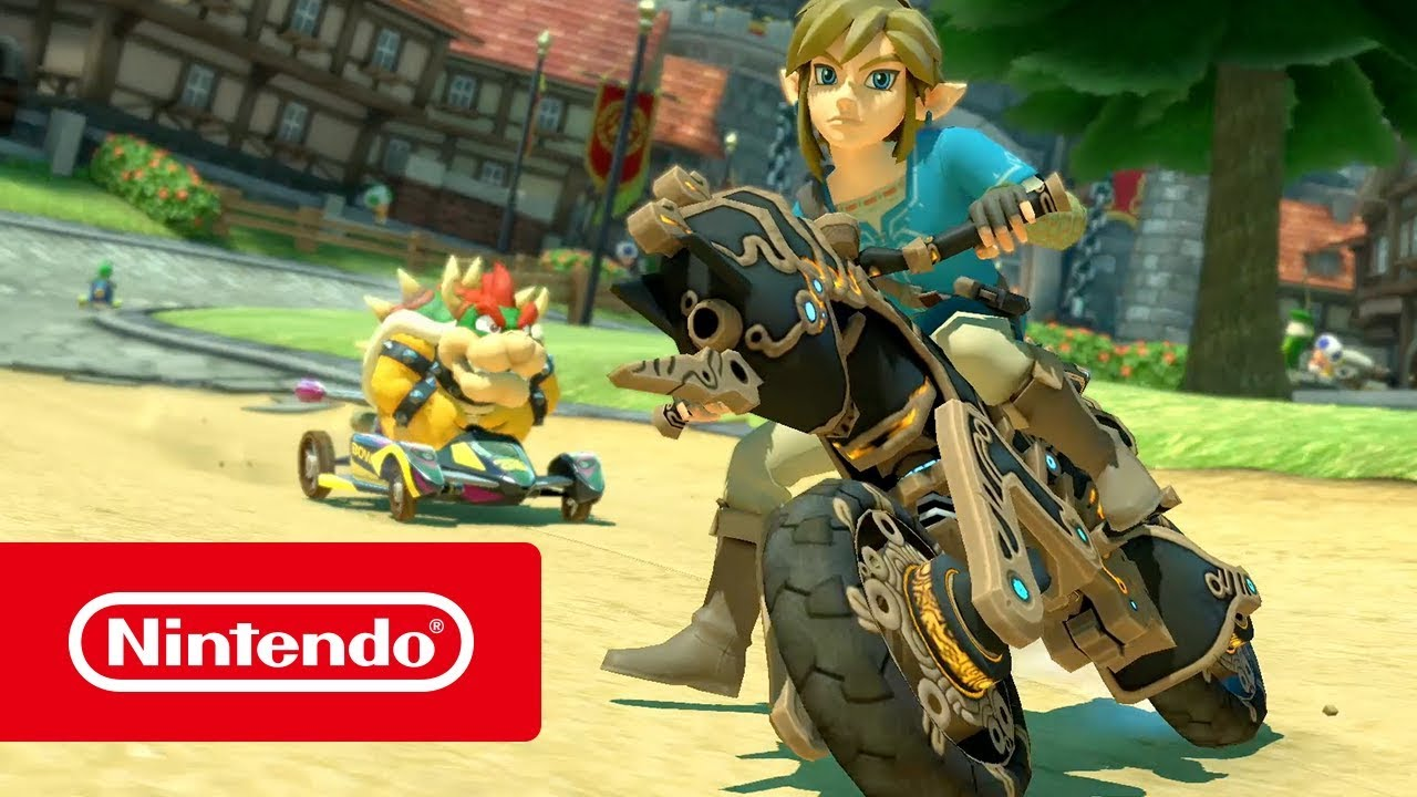 Mario Kart 8 Deluxe X The Legend of Zelda: Breath of the Wild (Nintendo  Switch)