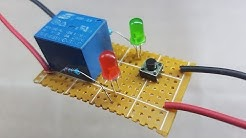 how to make a short circuit protection with one relay