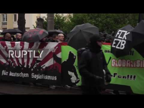 Germany: Far-right protesters march against